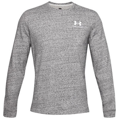 Remera Under Armour Sport Style Terry Logo Crew