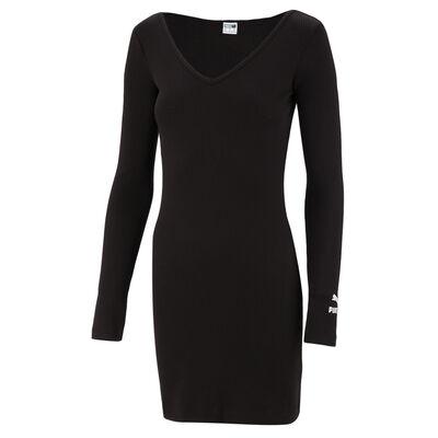 Vestido Puma Classics Rib Bodycon Dress
