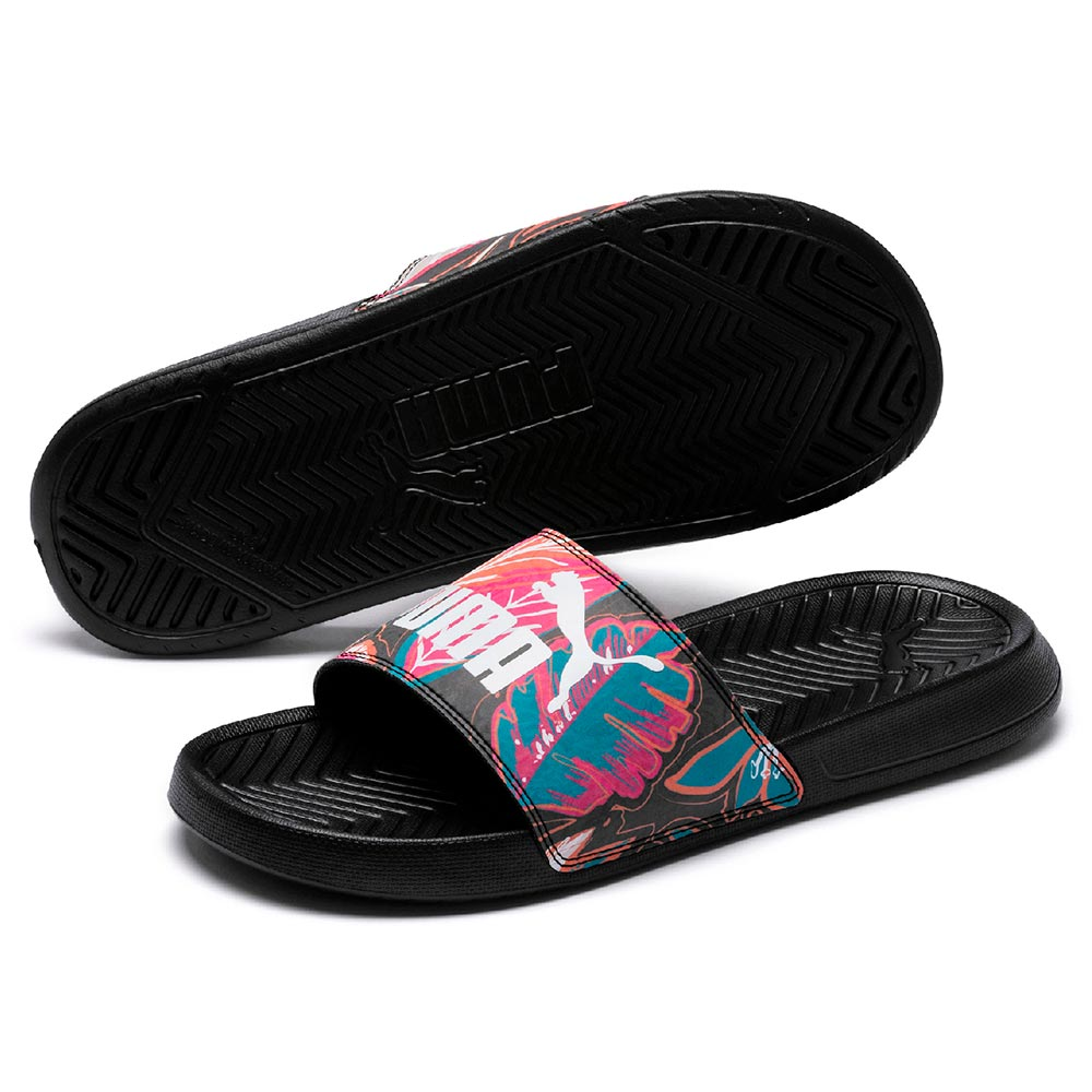 Chinelas Puma Popcat Floral Newtopia,  image number null